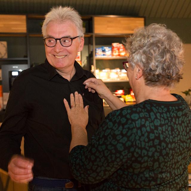 Willem Vis neemt afscheid als penningmeester