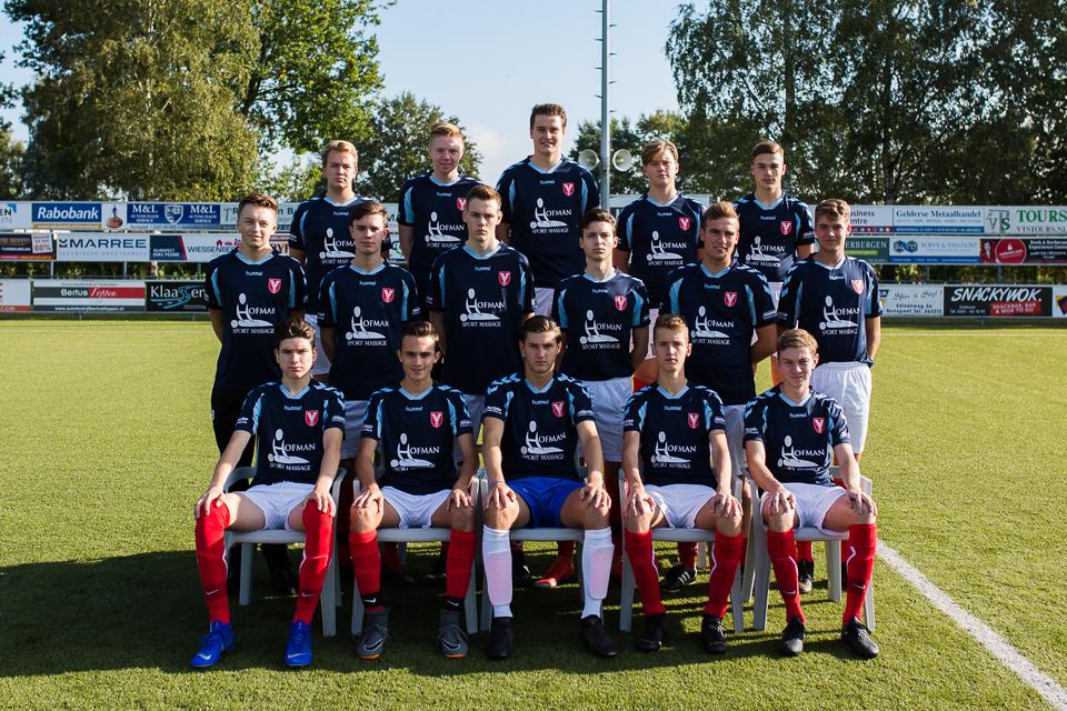 Hulshorst JO19-1 mag zich prijzen met trouwe sponsoren