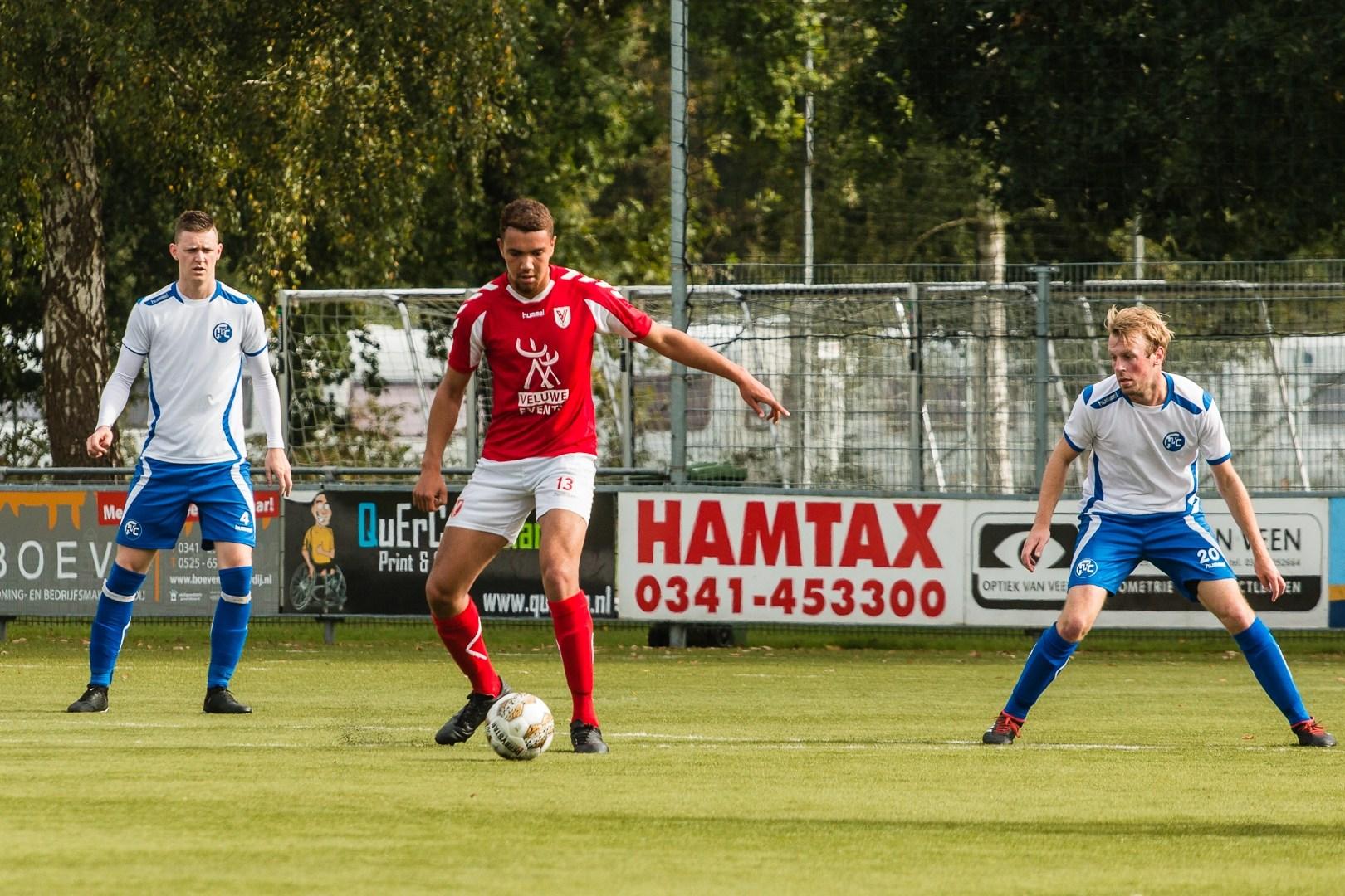 Slechte wedstrijd Hulshorst, dus verlies