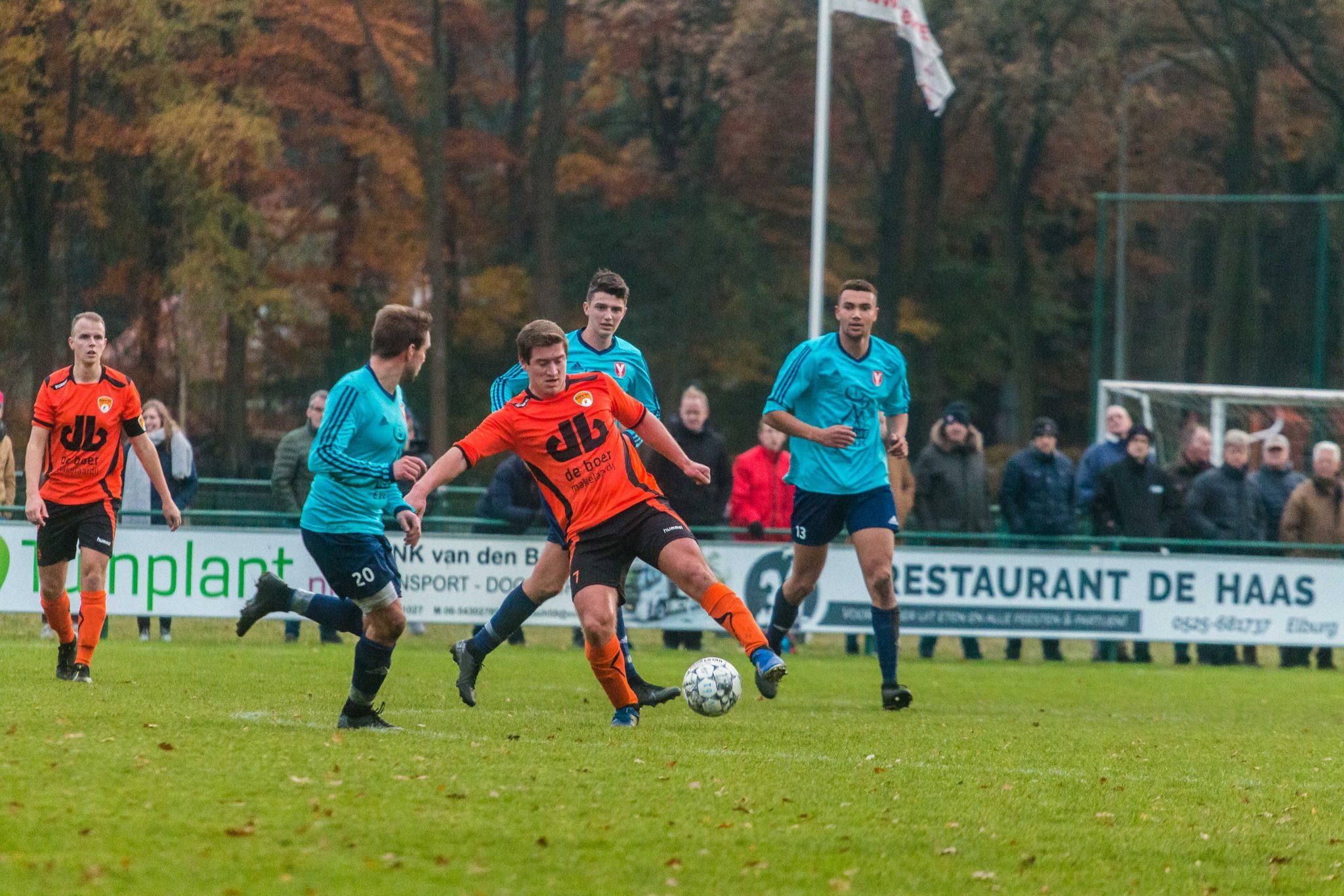 Derby tussen DSV '61 - Hulshorst blijft onbeslist (1-1)