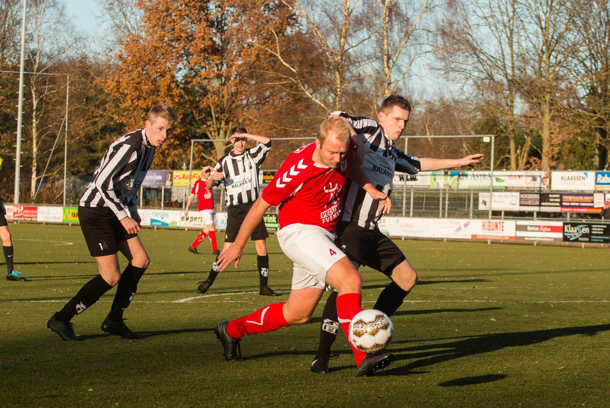 Hulshorst geeft overwinning weg in slotfase