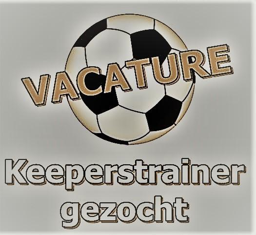 Keeperstrainers gezocht voor onze jeugdkeepers t/m JO17